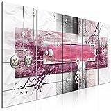 murando Cuadro en Lienzo Abstracto 200x80 cm Impresión de 5 Piezas Material Tejido...