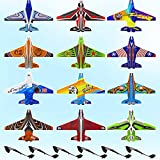 2021 New Hot Toy - Catapult Plane,Aircraft Model Supplement Pack。Bubble Catapult Plane Toy Airplane。12 Foam Model Boards and 6 Model Keels。