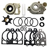 Water Pump Impeller Repair Kit Replacement for 46-42579A4 46-96148A5 Fit for Sierra and Mercury Water Pump replaces 18-3319 46-96148A8 46-96148Q8 46-96148A5 46-42579A4 46-44292A4 46-48747A3
