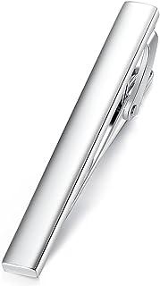 HONEY BEAR Mens Tie Clip Bar for Normal Size Steel Business Wedding Gift 5.4cm