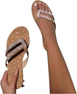 Crystal Slippers Gold Onion Slippers Women