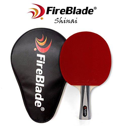 FireBlade 'Shinai' - Allwood ITTF Table Tennis Bat with Case - 5-ply wood -...