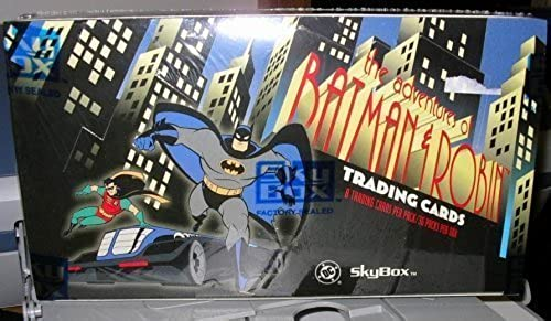 THE ADVENTURES of BATMAN & ROBIN TRADING CARDS FACTORY SEALED BOX 36 PACKS 1995 by sKYBOX