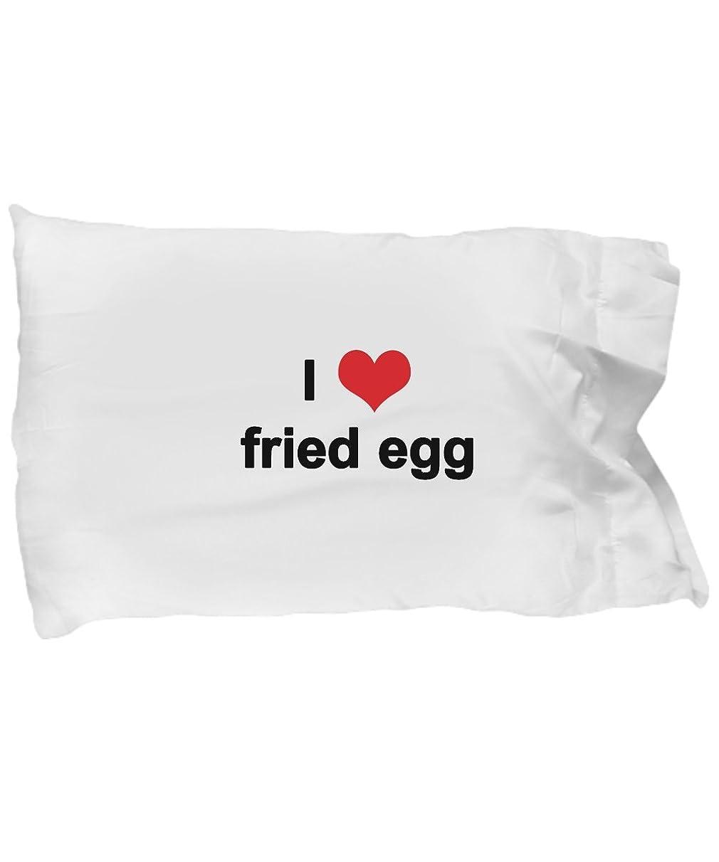 Jodi Style Fried Egg Pillow Case - I Love Fried Egg - Themed Gift