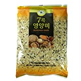 ROM AMERICA 7 Seven Mixed Grains Brown Rice Sweet Rice Whole Barley 4 Pound - 7곡 영양미 잡곡