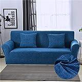 WXQY Funda de sofá elástica para Sala de Estar Todo Incluido Funda de sofá Antideslizante elástica con combinación de Funda de sofá de Esquina en Forma de L A30 1 Plaza