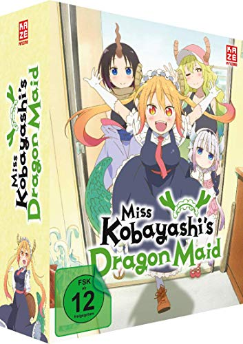 Miss Kobayashi's Dragon Maid - Vol. 1 - [DVD] - Limited Edition + Sammelschuber
