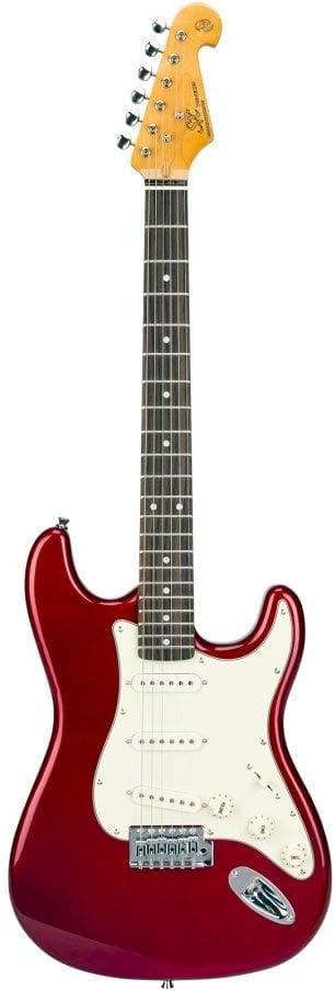 SX Vintage Series SST62+ Strat Style Guitarra Eléctrica - Candy Apple Red