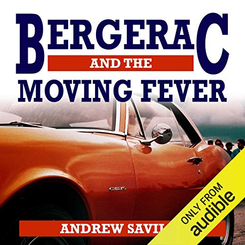 Bergerac and the Moving Fever audiobook cover art