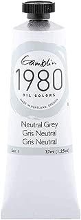 Gamblin 1980 Oil Neutral Grey 37Ml