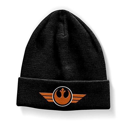 Star Wars Officiellement Marchandises sous Licence Join The Resistance Bonnet (Noir)