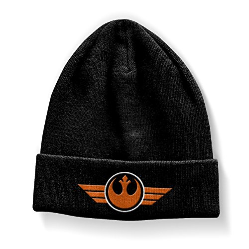 Star Wars Officiellement Marchandises sous Licence Join The Resistance Bonnet (Noir)