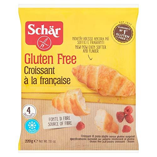 Croissants surgelés sans gluten Schär - 4 X 55 g