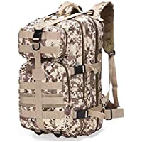 Nice-live Military Tactical Camo Outdoor Army 3 Day Assault Backpack