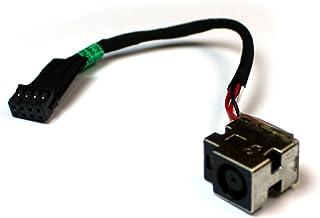Power4Laptops Conector de alimentación portátil con Cable Compatible con HP Pavilion G6-2212