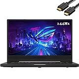 "ASUS ROG Zephyrus G15 15.6"" FHD 1080P 144Hz IPS Gaming Laptop (AMD Ryzen 7 4800HS 8-Core (beats i7-1165G7), GTX 1660Ti Max-Q, 24GB DDR4, 1TB PCIe) Backlit, Wi-Fi 6, Windows 10, IST HMDI Cable, GA502IU"