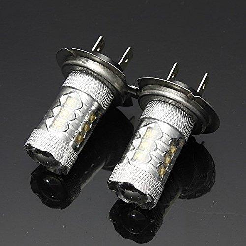 katur 2 x 80 W blanc h7 LED Xénon DRL conduite brouillard ampoule de phare