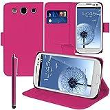 Custodia cover custodia supporto Video Libro Portafoglio pelle PU per Samsung Galaxy S3I9300/I9305Neo/LTE 4G