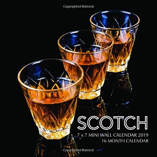 Scotch 7 x 7 Mini Wall Calendar 2019: 16 Month Calendar