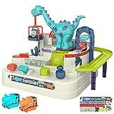 Arkmiido Cars Track Toy Car Adventure Track Kids Toys, Dinosaur Adventure Car Race