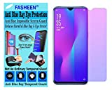 FASHEEN AntiBlue Ray Eye Protection For LG X POWER, Anti Blue Light HammerProof Flexible Impossible Fiber Film Screen Guard for LG X POWER