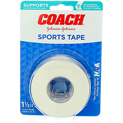 johnson johnson medical tapes Johnson & Johnson 1.5 inch Coach Athletic Tape