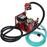 60 L/min Pompe Diesel Auto-Amorçante Diesel-fuel Pompe à Huile Electrique Essence à Amorçage Transfert de Extracteur 230V 550W 2800 tr/min