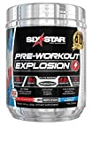 Pre Workout | Six Star Preworkout Explosion | Pre Workout Powder for Men & Women with Creatine Monohydrate & Beta Alanine for Energy, Focus and Intensity | Energy Powder | Icy Rocket (30 Servings)