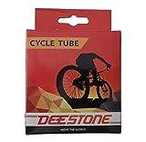 ONOGAL Camara de Aire Deestone Rueda de Bicicleta 18 x 1.9 a 2.125 Valvula Gruesa 6332