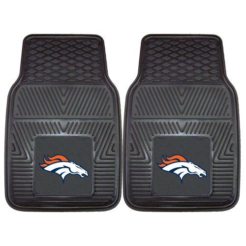 FANMATS 8768 NFL Denver Broncos Vinyl Heavy Duty Car Mat,18'x27'