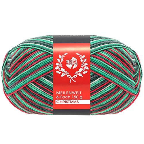 Lana Grossa MEILENWEIT Christmas 9516-6-Fach