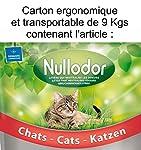 NULLODOR Litière en Silice pour Chat Carton de 9 kg #1
