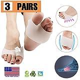 Ball des Fußkissens, Metatarsale Vorfuß-Pads (6 PCS), NEUES MATERIAL, half Toe Sleeve am besten für diabetische Füße, Ballen-Entlastung, Callus, Blasen, Vorfuß-Schmerz.