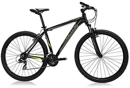"Monty KY17 Bicicleta, Unisex Adulto, Negro, 21"""