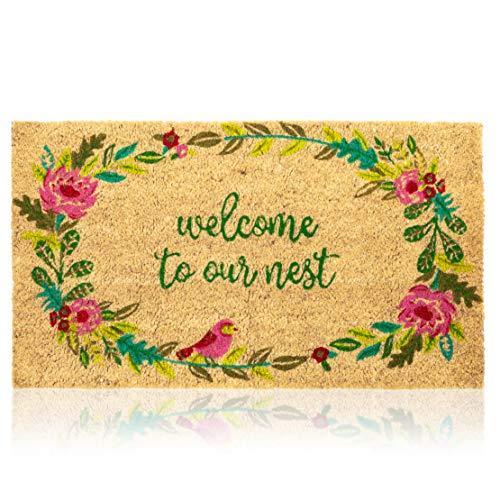 Felpudo Welcome  marca Juvale