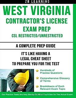 West Virginia Contractor's License Exam Prep