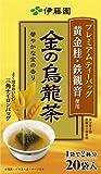 伊藤園 プレミアムティーバッグ 金の烏龍茶 1.9X20