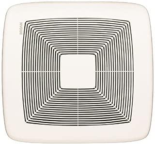 Broan QTXE080 Ultra Silent Bath Fan, 80 CFM, White Grille (Renewed)