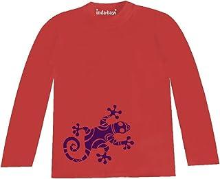 Inda-Bayi Baby-Toddler-Kids Cotton Hoodie T Shirt Gecko
