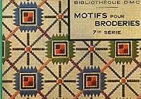 Bibliotheque D・M・C. アンティークDMC復刻図案シリーズ刺しゅうで旅するヨーロッパ6 ~ノスタルジックな幾何学模様~
