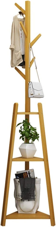 Coat Racks Standing Coat Rack Hall Tree, Hook Free Standing Entryway Standing Hat Jacket Coat Hanger Rack,for Bedroom & Living Room