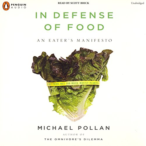 In Defense of Food audiobook cover art