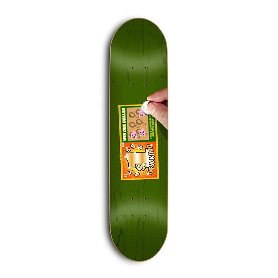じゃないクラッシュ信号Skate Mental スケートボードデッキ Kleppan Scratcher 8.375インチ