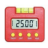 Webla Électronique Mesureur Angle Mesure Angle Digital Lcd Goniomètres Numériques Coque Chanfrein Inclinomètre Protractor pour Mesurer Angle, Mesurement à 360 Degrés, Resolution à 0.1 Degré