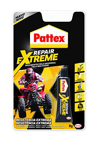 Pattex Repair Extreme - Pegamento (8 gr) Blanco