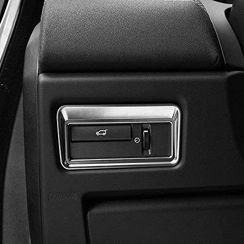 Accessoire de Voiture en Plastique ABS Bouton Porte Garniture Garniture Couvercle pour Range Rover Evoque Sport Vogue L405 Autobiographie 2012-2017