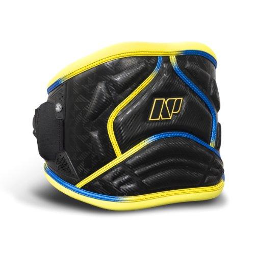 NP Surf 3D Pro Windsurf fácil liberación Cintura arnés, Negro/Amarillo