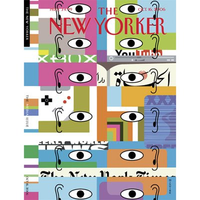 The New Yorker (Oct. 16, 2006) audiobook cover art