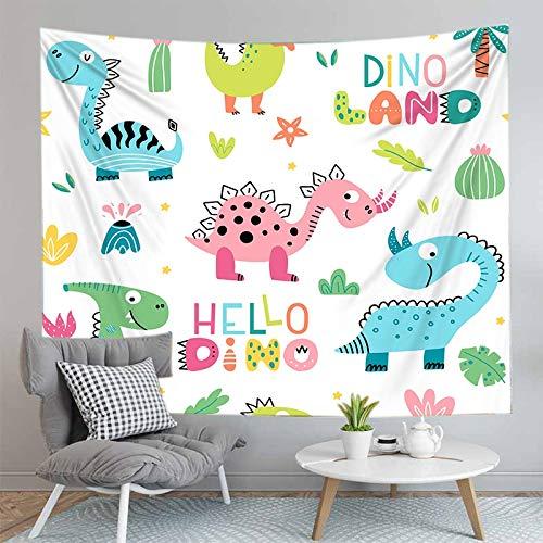 PPOU Dinosauro Stampa 3D arazzo a parete decorazione Della parete di casa sfondo panno arazzo coperta panno appeso A3 130x150 cm