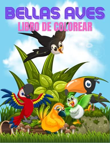 BELLAS AVES LIBRO DE COLOREAR: ves libro de colorear para ninos Libro De Colorear para Niños y Niñas a Partir de 4 Años